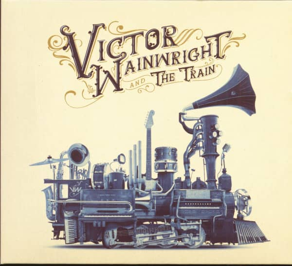 Victor Wainwright And The Train (CD)