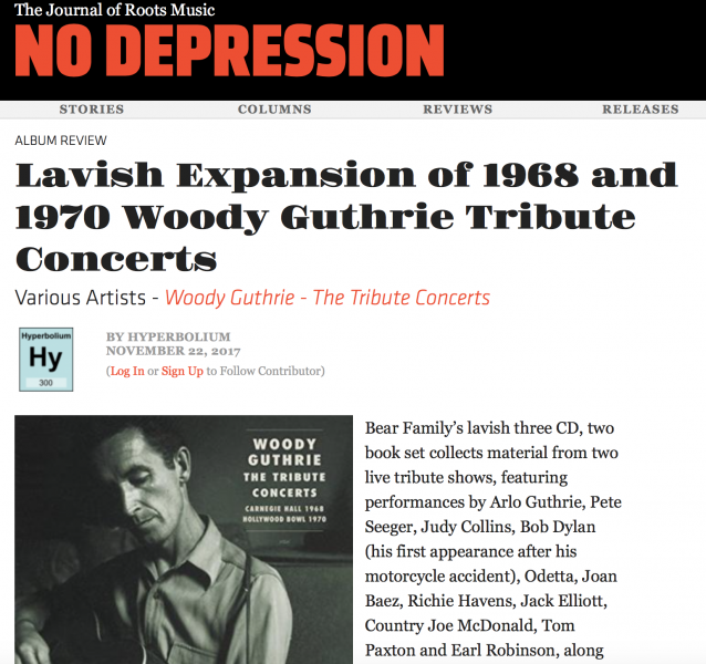 Press-Woody-Guthrie-The-Tribute-Concerts-nodepression