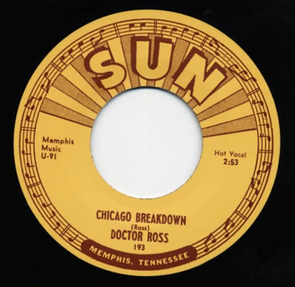 Come Back Baby b-w Chicago Breakdown 7inch, 45rpm