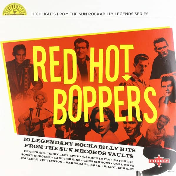 Red Hot Boppers (LP, 10inch, Red Vinyl, Ltd.)