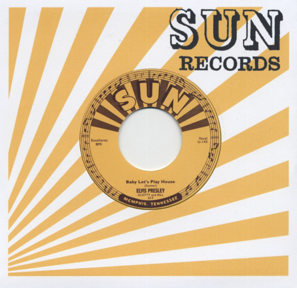 Baby Let's Play House - I'm Left, You're Right, She's Gone 45rpm