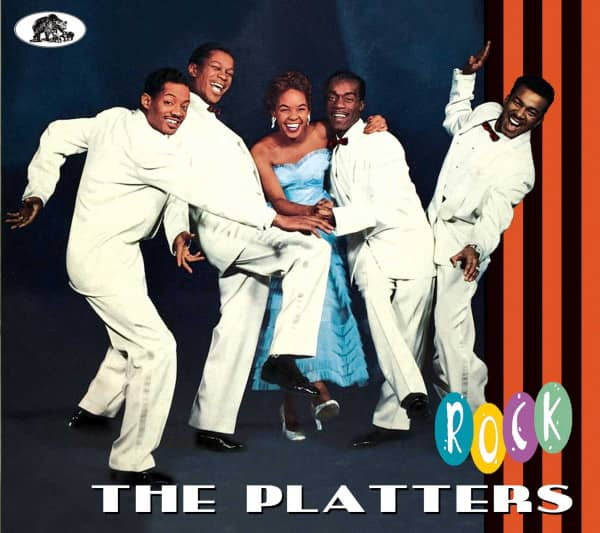 The Platters Cd The Platters Rock Cd Bear Family