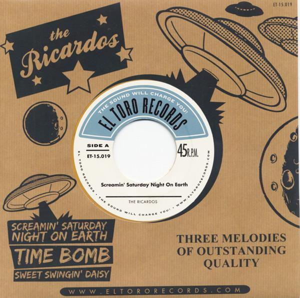 Screamin' Saturday Night On Earth 7inch, 45rpm, EP