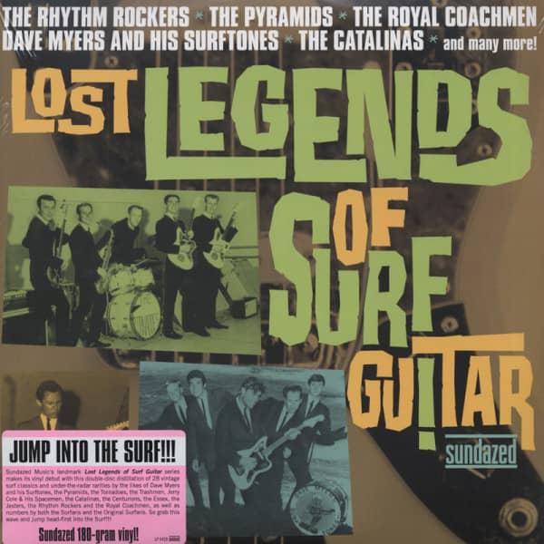 Legends Of Surf Guitar (2-LP) 180g Gatefold - K