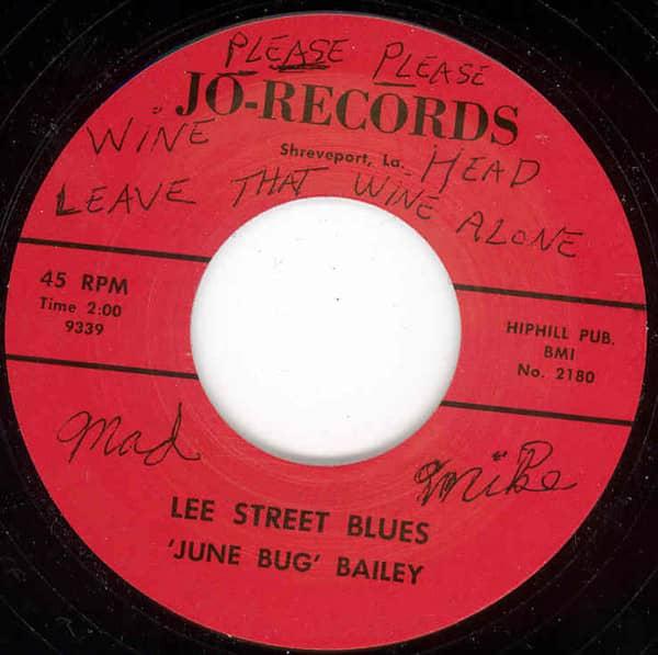 Louisiana Twist b-w Lee Street Blues 7inch, 45rpm