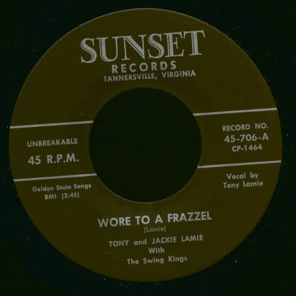 Wore To A Frazzel - Sunset Blues (7inch, 45rpm)