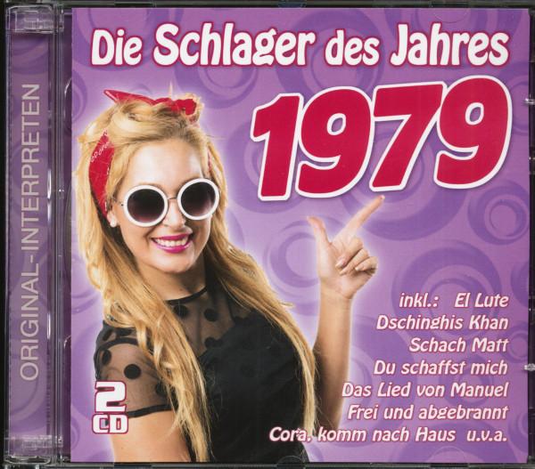 Die Schlager des Jahres 1979 (2-CD)