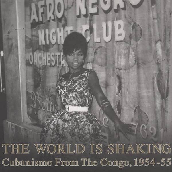 The World Is Shaking (2-LP) Congo Cubanismo