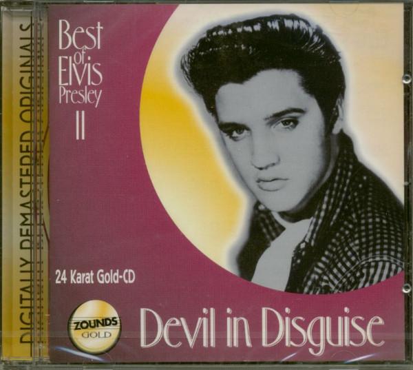 Devil In Disguise - Best Of Elvis Presley II (CD, 24 Karat Gold)