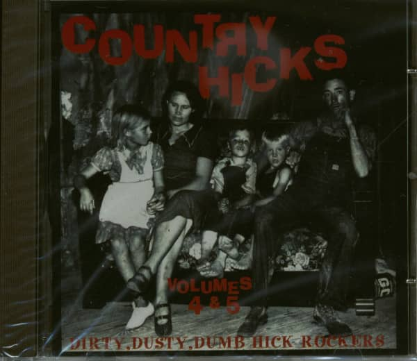 Country Hicks Vol.4 & 5 (CD)