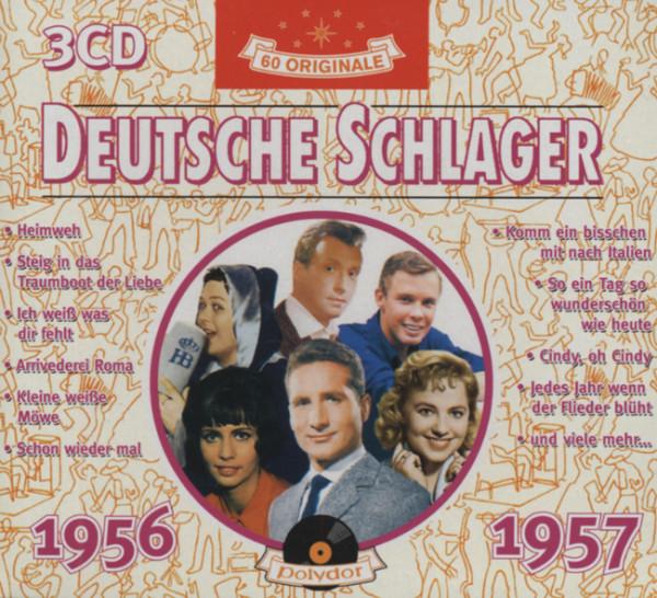 Deutsche Schlager 1956-57 (3-CD)