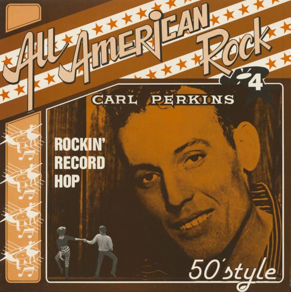 All American Rock, Vol.4 - Rockin' Record Hop (LP)