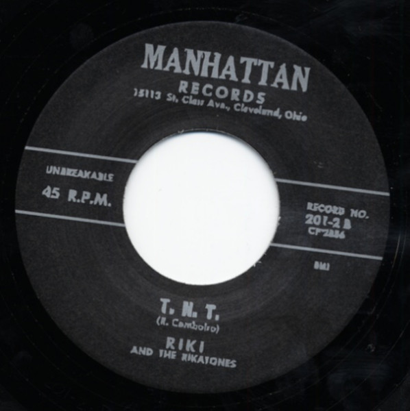 Whipash - T.N.T. 7inch, 45rpm