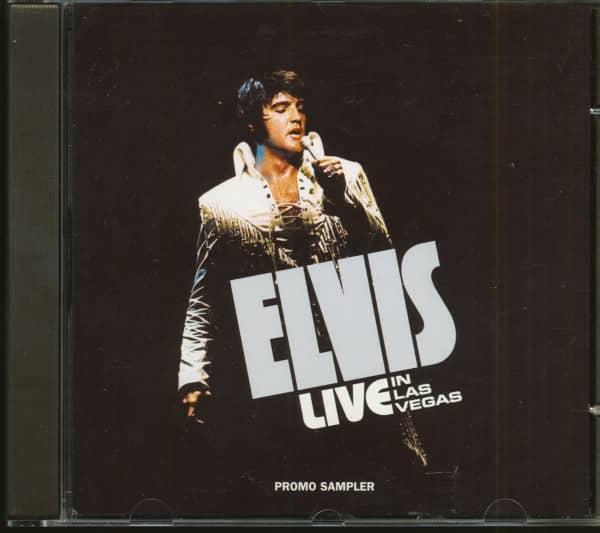 Elvis Live In Las Vegas - Promo Sampler (CD)