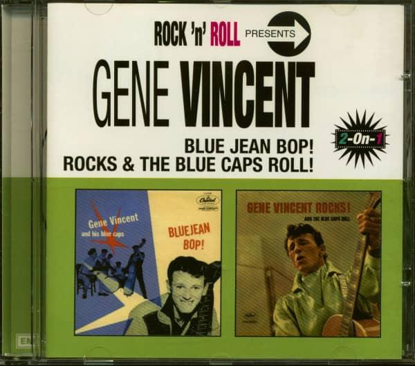 Blue Jean Bop - Rocks & The Blue Caps Roll (CD)