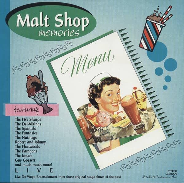 Malt Shop Memories - Live (CD)