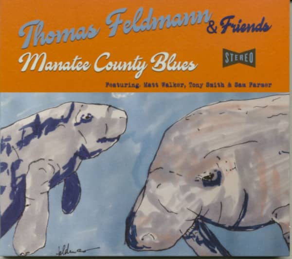 Manatee County Blues (CD)