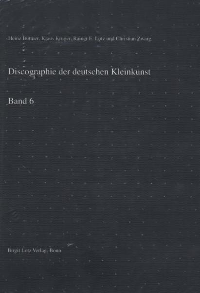 Deutsche Kleinkunst - Vol.6, Discographie - Manfred Weihermueller
