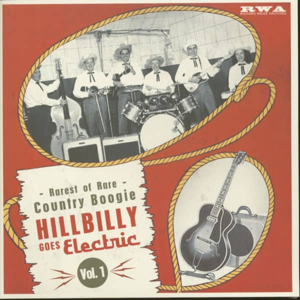 Hillbilly Goes Electric, Vol.1 (LP, 10inch)