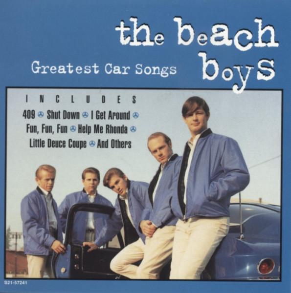 Greatest Car Songs (CD)
