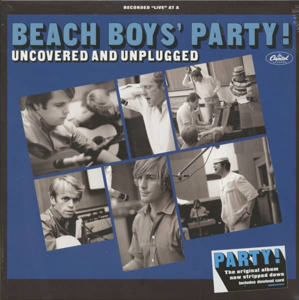 Beach Boy's Party - Uncovered And Unplugged (LP)