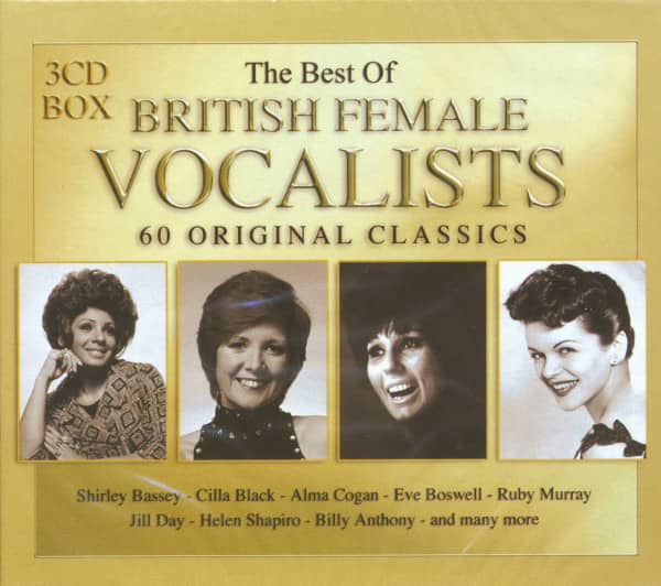 Best Of British Female Vocalists (3-CD)