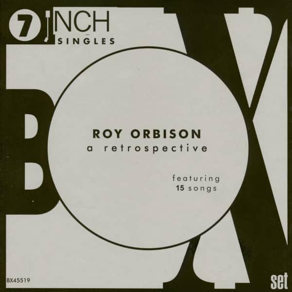 Roy Orbison - A Retrospective (9x7inch, 45rpm, BC) Box Set