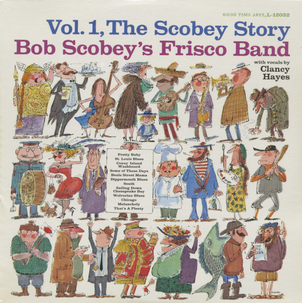 Bob Scobey's Frisco Band - The Scobey Story, Vol.1(LP)