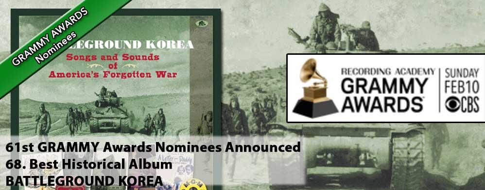 Battleground Korea - Songs and Sounds of America's Forgotten War