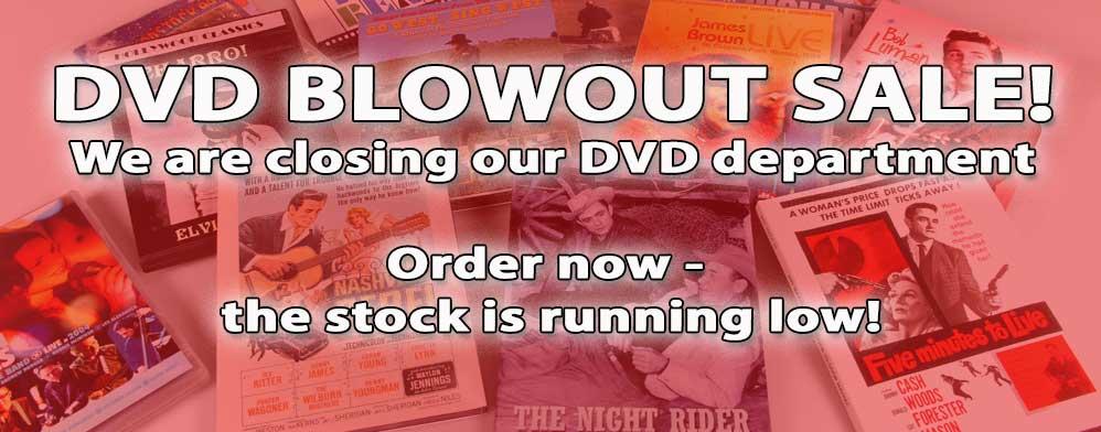 DVD Blowout Sale