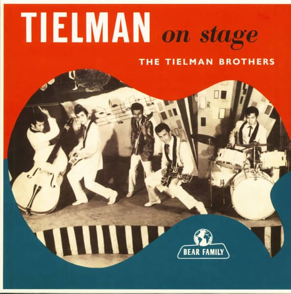 Tielman On Stage (LP, 10inch, Ltd.)