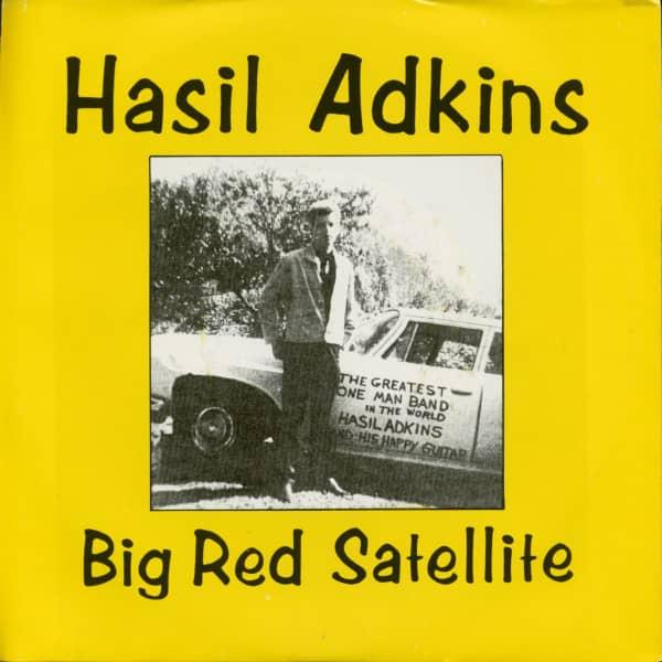 Big Red Satellite - Ellen Marie (7inch, 45rpm, PS)