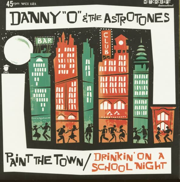 Paint The Town - Drinkin' On A School Night (7inch, 45rpm, PS)