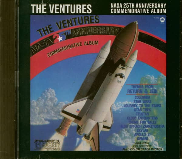 Nasa 25th Anniversary Commemorative Album (CD)