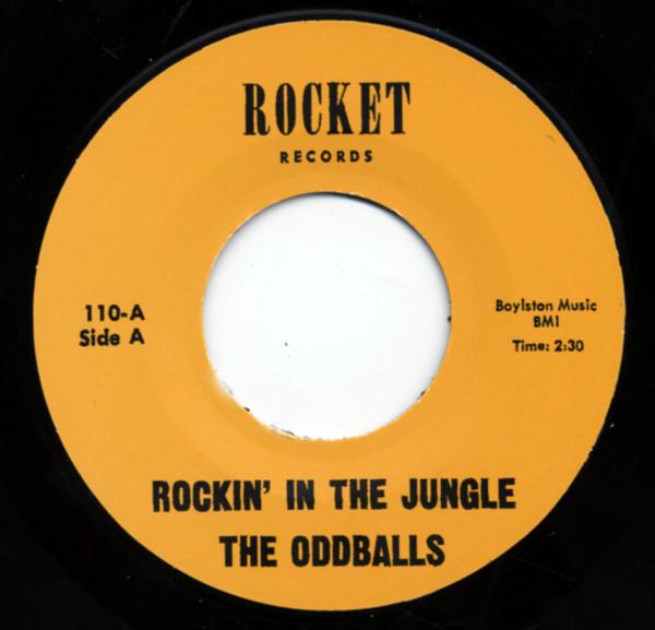 Rockin' In The Jungle b-w That's My Babe 7inch, 45rpm