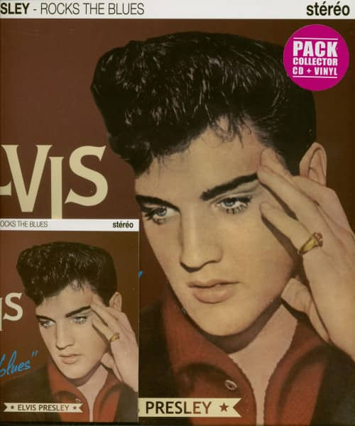 Rocks The Blues (10inch LP plus CD)