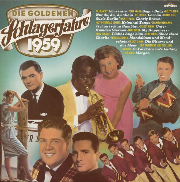 Die Goldenen Schlagerjahre 1959 (LP)