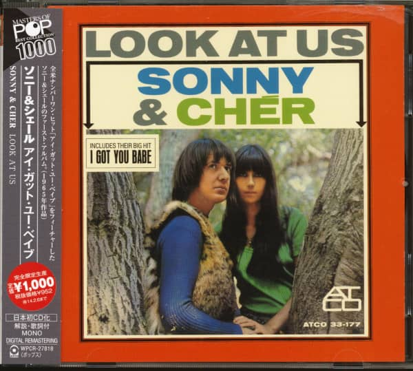 Look At Us (CD, Japan)