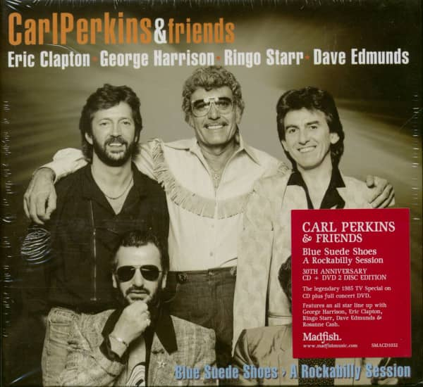 Carl Perkins & Friends: Blue Suede Shoes - A Rockabilly Session (CD+DVD)