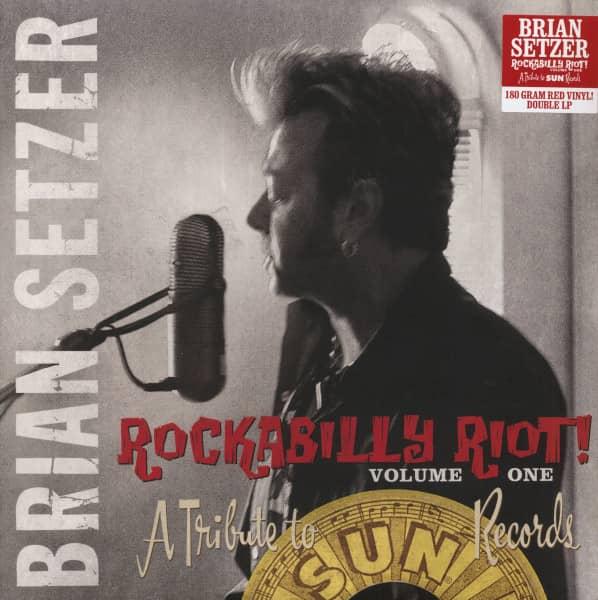 Rockabilly Riot! Vol.1 - A Tribute To Sun Records (LP, 180g Red Vinyl, Ltd.)