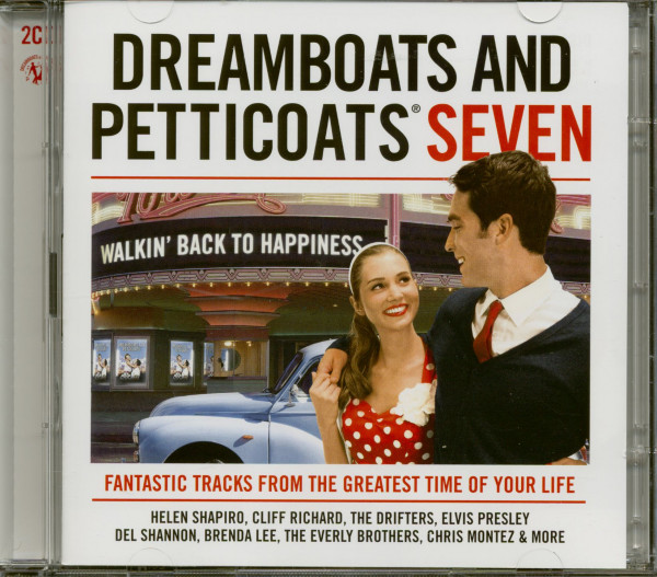 Dreamboats And Petticoats Seven - Walkin' Back To Happiness (2-CD)