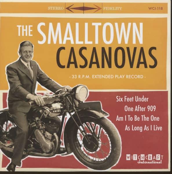 The Smalltown Casanovas (7inch, 33rpm, EP, PS, sc)