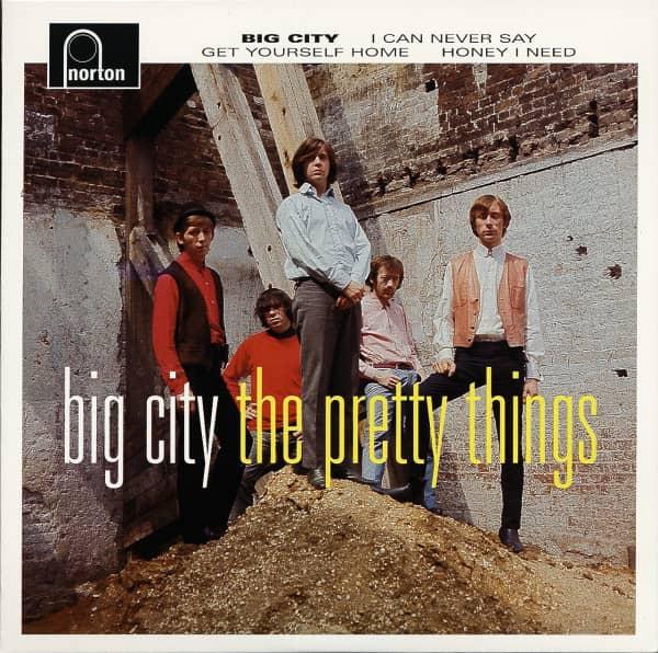 Big City 7inch, 45rpm, EP