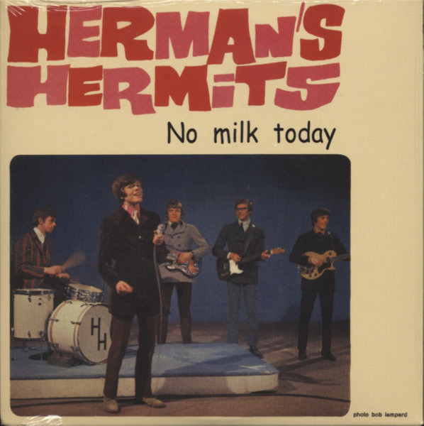 No Milk Today ... plus - Papersleeve