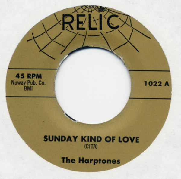 Sunday Kind Of Love b-w I'll Never Tell 7inch, 45rpm