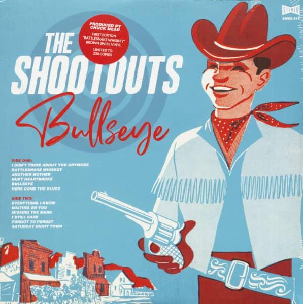 Bullseye (LP, Colored Brown Swirl Vinyl, Ltd.)