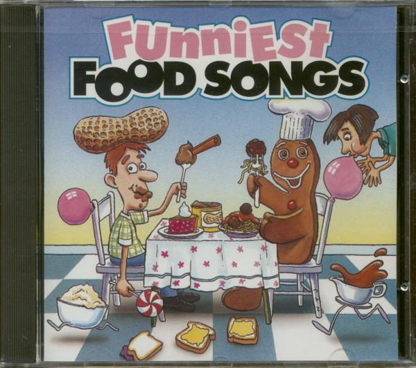 Funniest Food Songs (CD)
