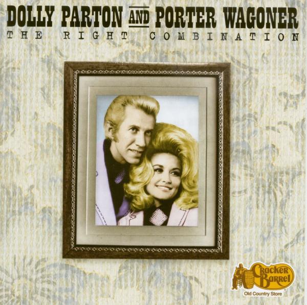 Dolly Parton & Porter Wagoner - The Right Combination (CD, Ltd.)