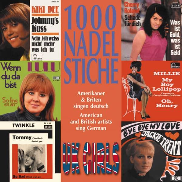 Vol.10, UK Girls - Amerikaner & Briten singen deutsch (CD)