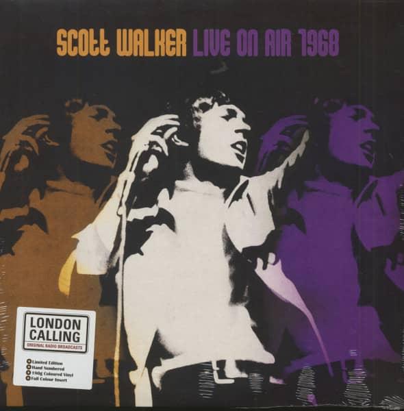 Live On Air 1968 (LP, 180g Purple Vinyl, Ltd. & Numbered)